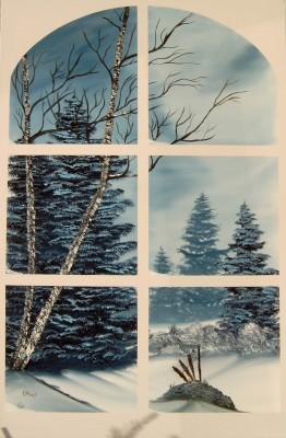 Landschaften for Fenster 60x80